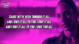 Alicia Keys - You Save Me (Lyrics) ft. Snoh Aalegra