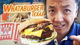 TRYING WHATABURGER & Opening KOREAN BBQ in Houston Texas
