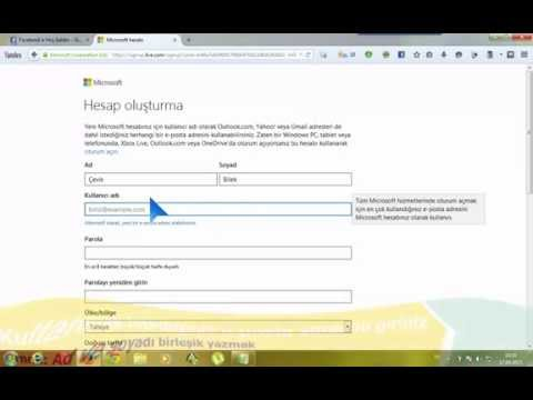 Hotmail Hesabı Açma | Yepyeni Anlatım