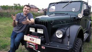 GAZ-69 from Kazakhstan on the 5vz SWAP. Overview ...