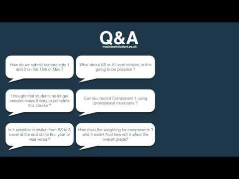Teaching AS Music Technology 2017 - Q&A