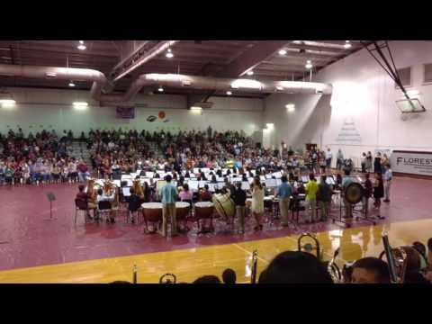 Floresville Middle School honors band
