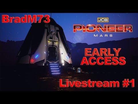 JCB PIONEER: MARS - EARLY ACCESS  Livestream #1
