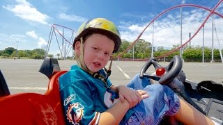Ridiculous Nicholas kids Roller Coaster Ride thumbnail