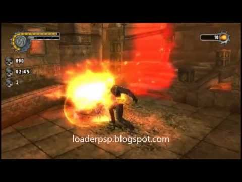 ghost rider psp game