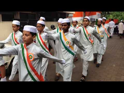 Iqra Arabic School Mangalore Celebrating India's 71st Indepe