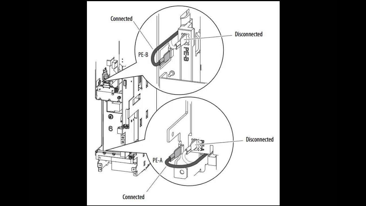 powerflex 753 wiring diagram powerflex 750 series frame 1 power jumpers youtube  powerflex 750 series frame 1 power