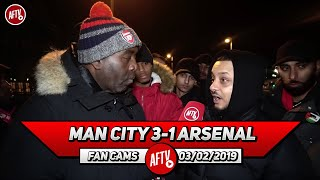 Man City 3-1 Arsenal | Aubameyang & Lacazette Had No Service!! (Troopz)
