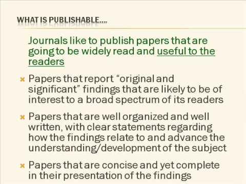 Get Published  Prof. Charles Dennis