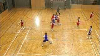 Basic Handball - Set Defence 1-5