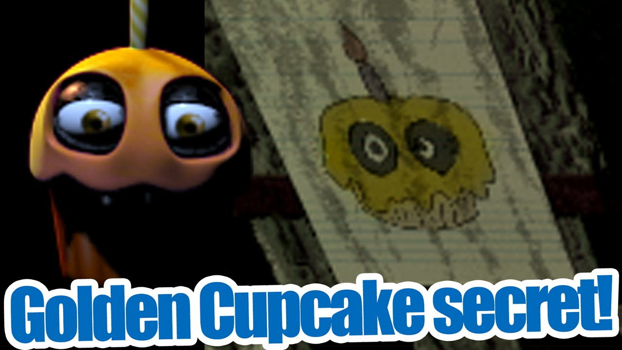 Golden cupcake secret five nights at freddy s 3 theory youtube