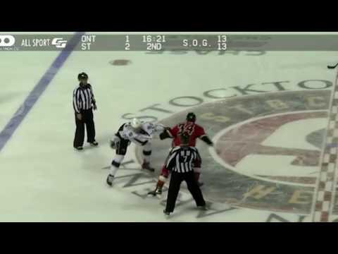 Kurtis MacDermid vs Hunter Smith - ONT vs STK - 03/03/17