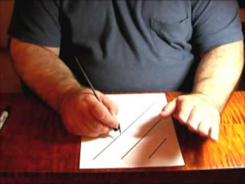 Adjusting your Pen and Paper