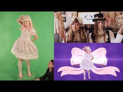 Sweet Lolita Transformation - Behind the Scenes
