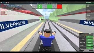 Roblox Mind the Gap Transport Simulator First Day on B07 (DLR) Tramway extensions Strand Part 2