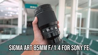 Sigma Art 85mm f/1.4 for Sony E is FANTASTIC!! BUT...