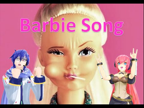 【Luka Megurine V4x】Barbie Song (Mad Kaito Version)【Vocaloid Cover】