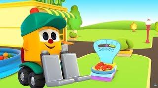 Lifty's Shop. Kids' cartoon. Learn fruits for kids.