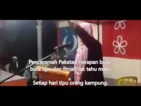 Ketua Serikandi PKR fitnah kos ECRL dan menipu orang kampung