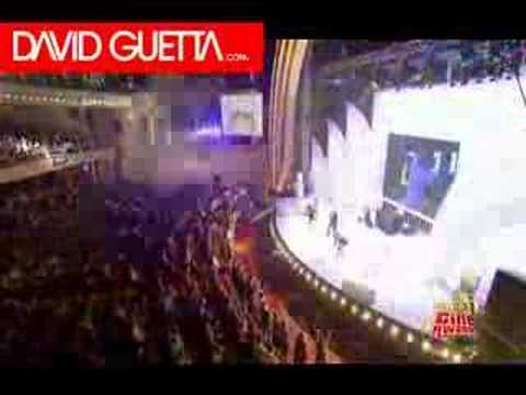 David Guetta —  NRJ Cine Awards 2006 Chris Willis
