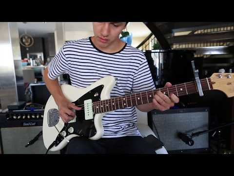 "COS Lead Electric Guitar Tutorial/Cover for ""Trust"" by Hillsong Young & Free"