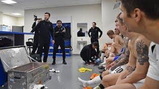 Раздевалка «Краснодара» после победного матча против «Зенита»