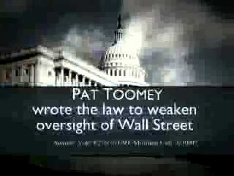 PA Sen DSCC Wall Street
