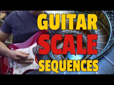 Scales Sequences Lesson - Graehme Floyd