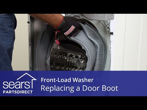 How To Install A Front Load Washing Machine Door Seal