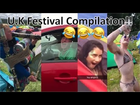Funny U.K Festivals Highlights 2017 (MUST WATCH)