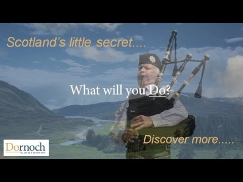 Visit Dornoch in the Beautiful Highlands of Scotland & Disco