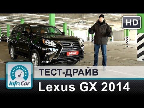 Lexus GX URJ150 (рестайлинг) Внедорожник