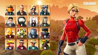 ADIVINATE THE SKIN OF FORTNITE BY THE COUPLE OF YOUR SET + RAREITY - PART #3 . . . . . . . . . . . . . . . . . . . . . . . . . . . . . . . . . . . . . . . . . . . tusadivi
