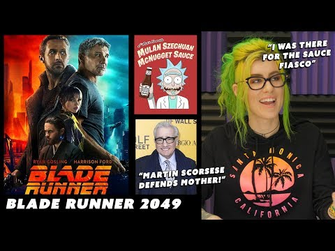 Blade Runner ► Rick and Morty Sauce ► Martin Scorsese defends Mother!