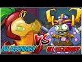 Beta-Carrotina Legendary Deck vs Huge Gigantacus Legendary Deck - Plants vs Zombies Heroes