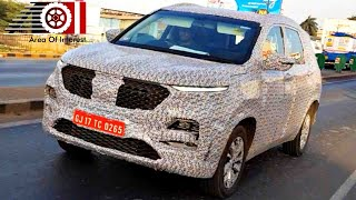 2019 MG Hector India Spy Video | Closer Look | Rival of Tata Harrier & Jeep Compass | 2019 Launch