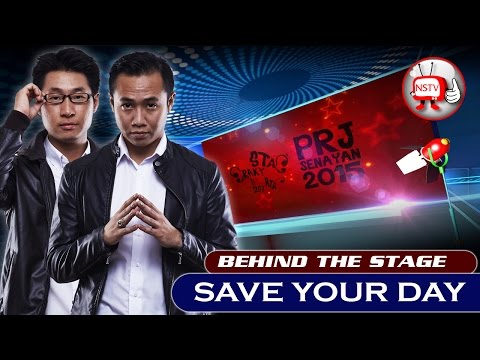 Save Your Day - Behind The Stage PRJ 2015 - NSTV