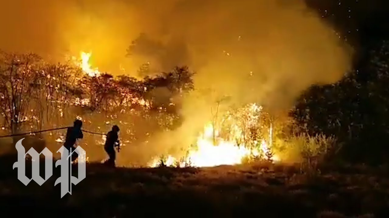 Massive wildfire spreads through Spain's Canary Islands