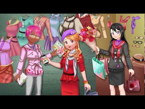 Anime Office Dress Up - Games For Girls And Kids