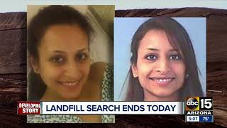 Phoenix police wrapping up landfill search for Christine Mustafa