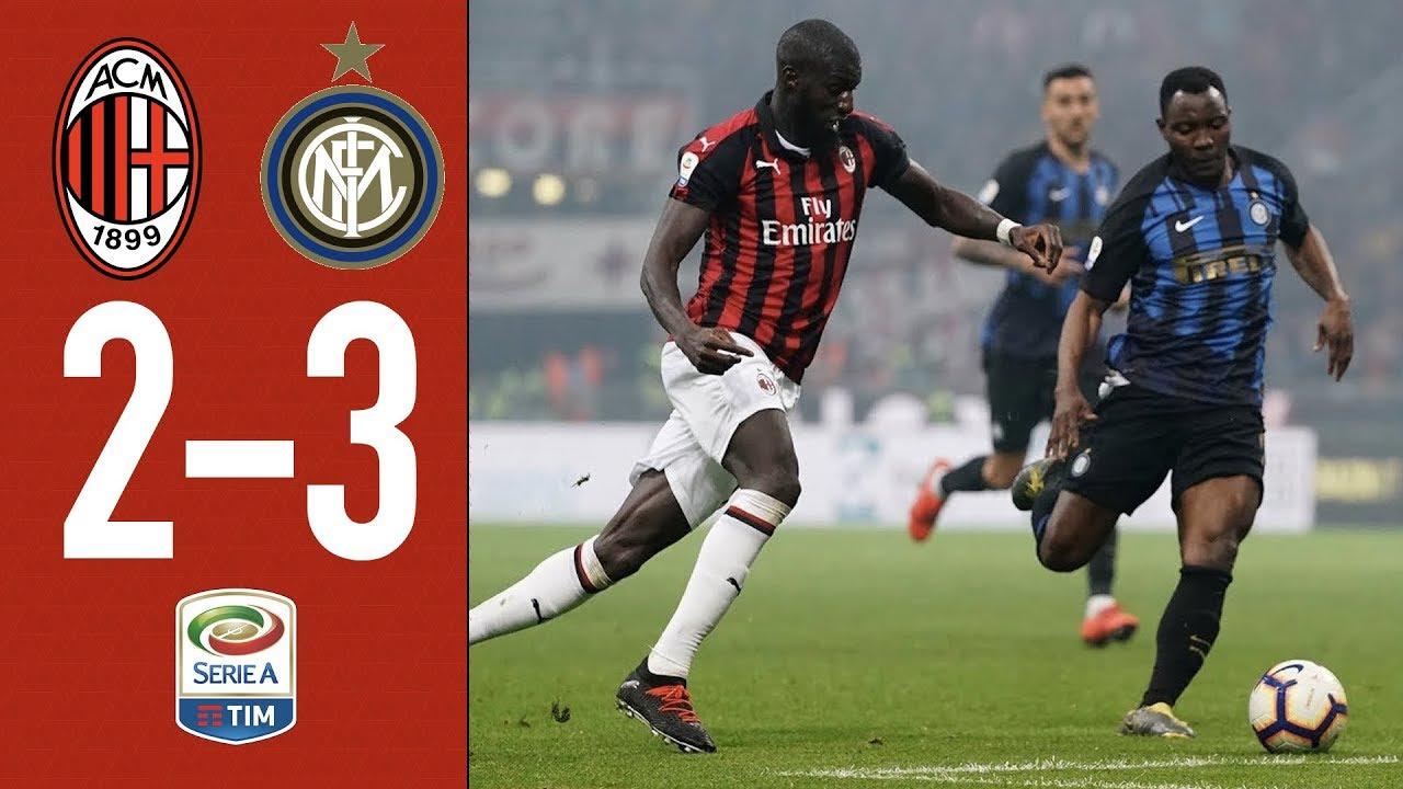 Download Highlights AC Milan 2-3 Inter - Matchday 28 Serie A TIM 2018/19