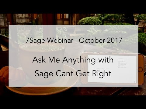 AMA with 7Sager Can't Get Right (176 on Sept. LSAT) - Oct. 21, 2017