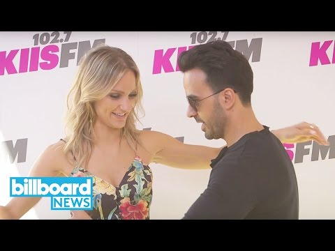 Learn How to Salsa Dance With Luis Fonsi | Billboard News