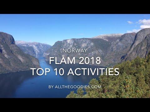 Flåm Top 10 Activities 2018, Norway