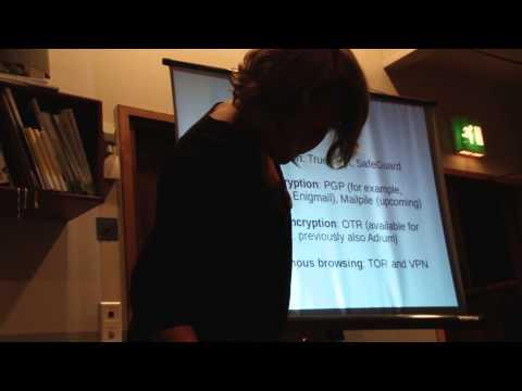 Hacks/Hackers Helsinki 20131010 - Hanna Nikkanen talks online security for journalists