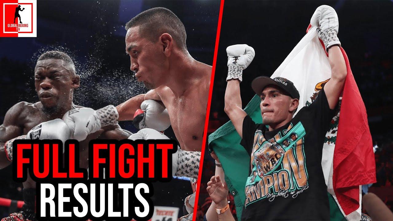 Juan Francisco Estrada Vs Dewayne Beamon Full Fight Results
