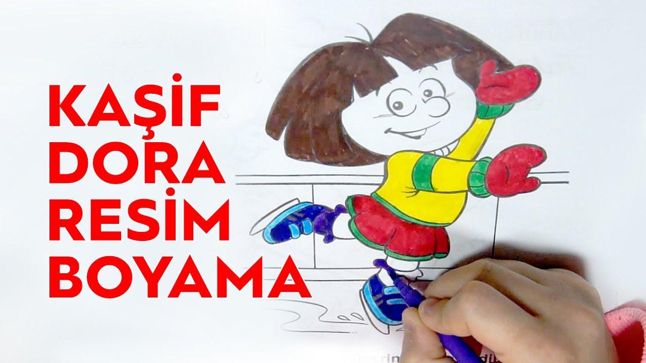 Kaşif Dora Boyama Boyama Kitabı Boyama Oyunu Youtube