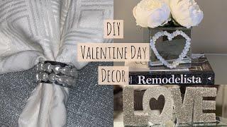 5 GLAM DIY VALENTINE DAY DECOR IDEAS || 2019