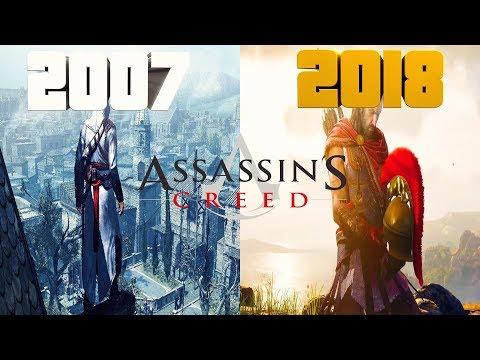 ЭВОЛЮЦИЯ ИГР Assassin's Creed 2007-2019