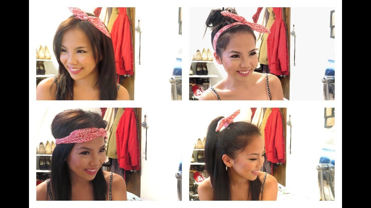 How To Style A Wire Headband  Four Ways  ) - YouTube 3e83aea0f84